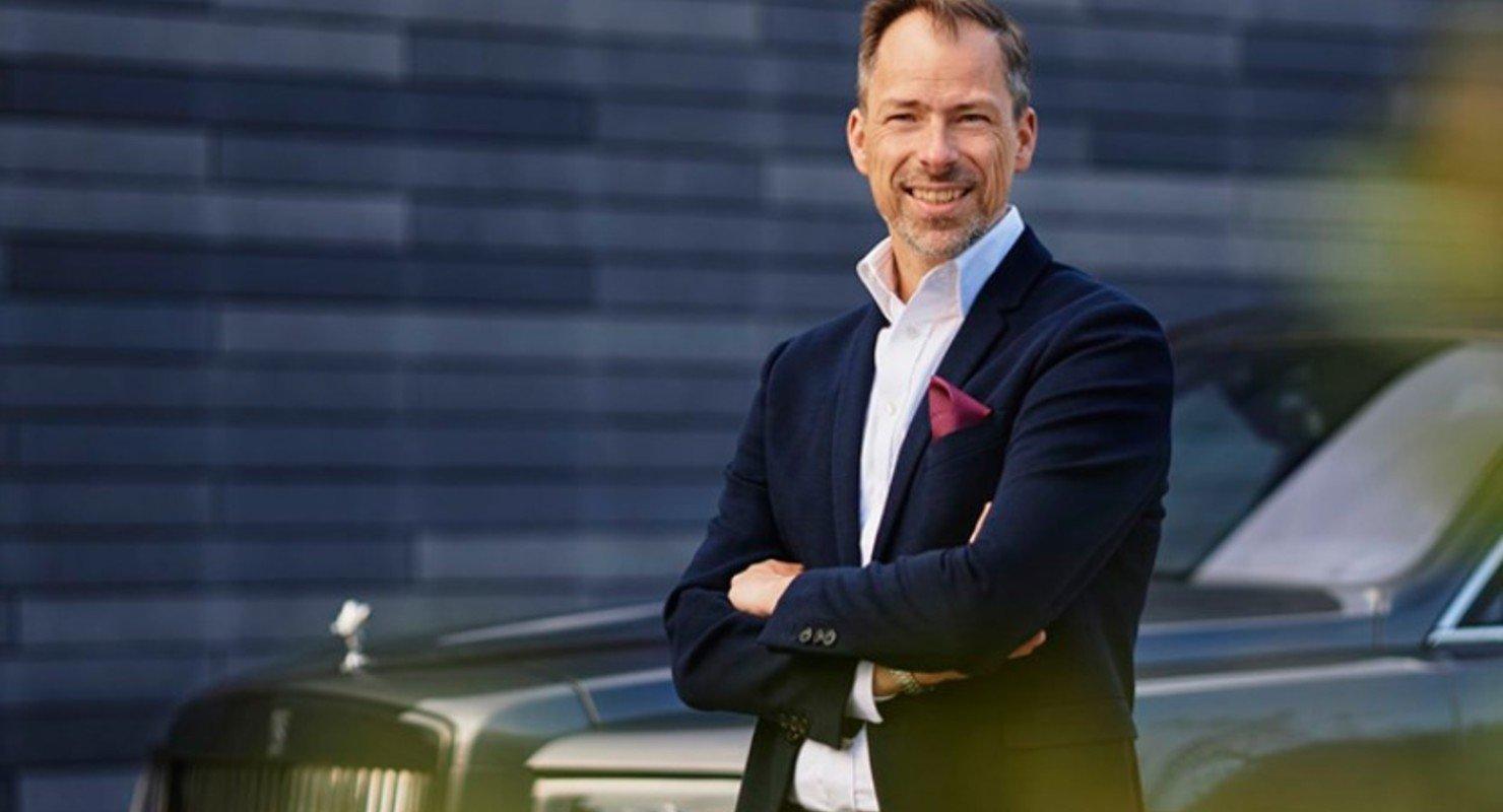 Фирма Rolls-Royce назначила нового шеф-дизайнера Автомобили