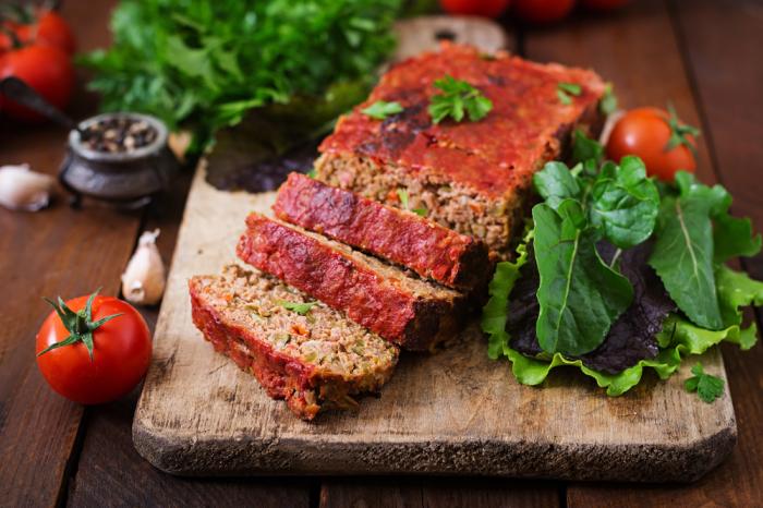Потрясающе вкусный мясной хлеб.  Фото: mvkus.mvideo.ru.