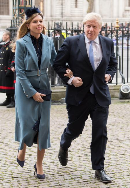 Премьер-министр Великобритании Борис Джонсон женился в третий раз Свадьбы,Звездные свадьбы