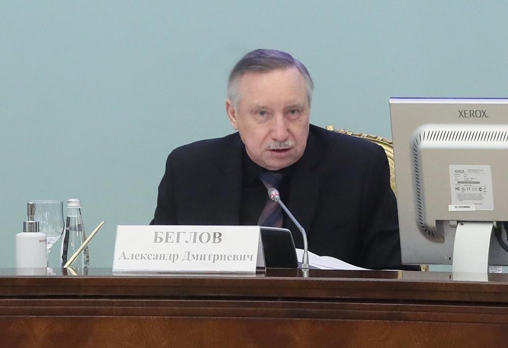 «Мы уже и так считаем деньги, по крохам собираем!» Губернатор Беглов поделился своей бюджетной болью с правительством