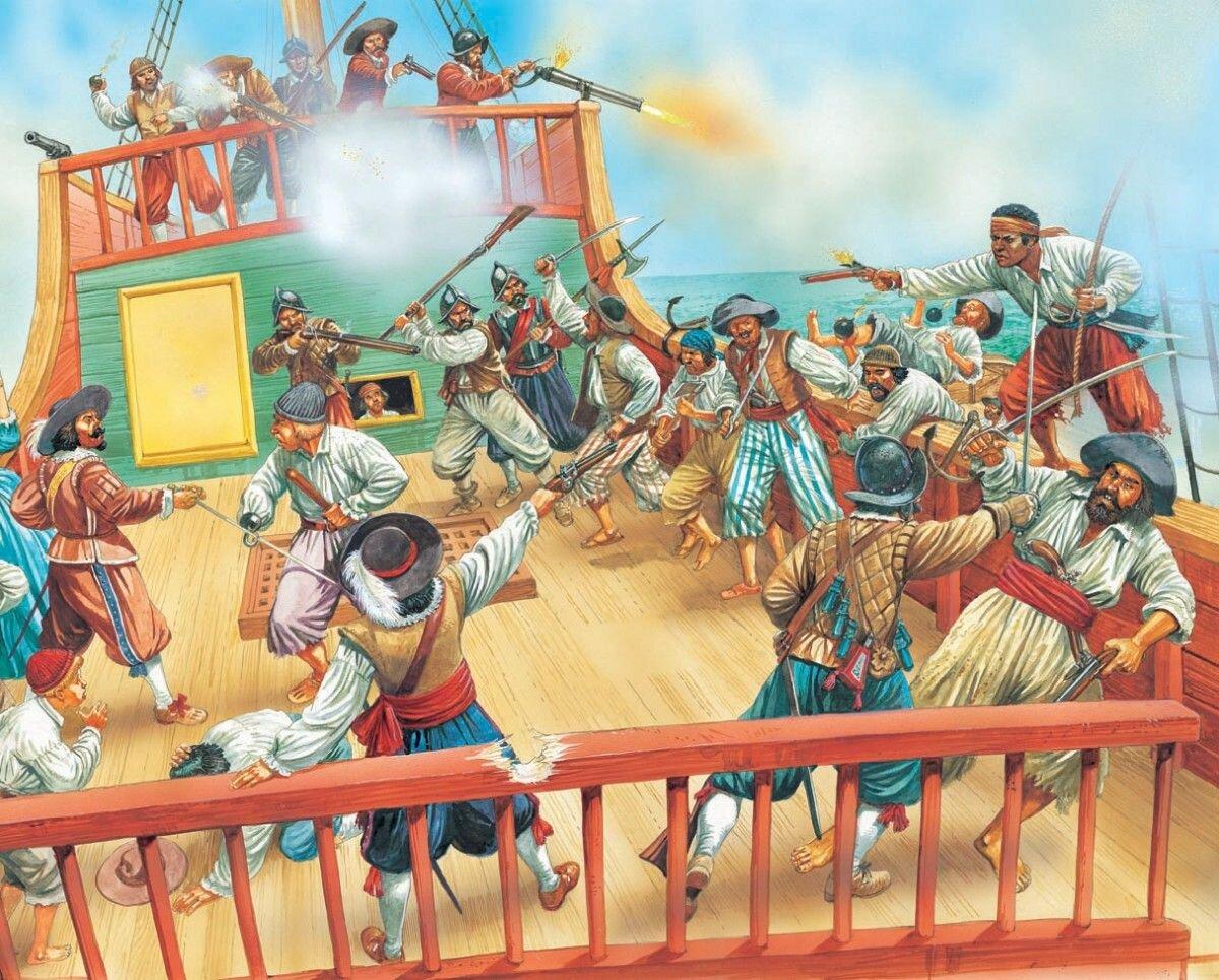 Как простой моряк стал одним из самых опасных и богатых пиратов в истории история