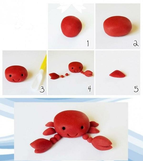 Поделки из пластилина инструкция в картинках, работе смешные