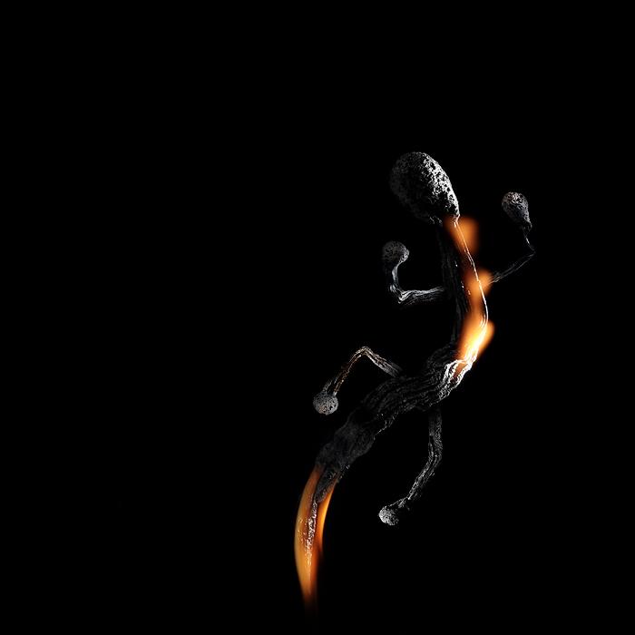 Фотограф ПолТергейст.  Игры с огнем, спичками и фотошопом.