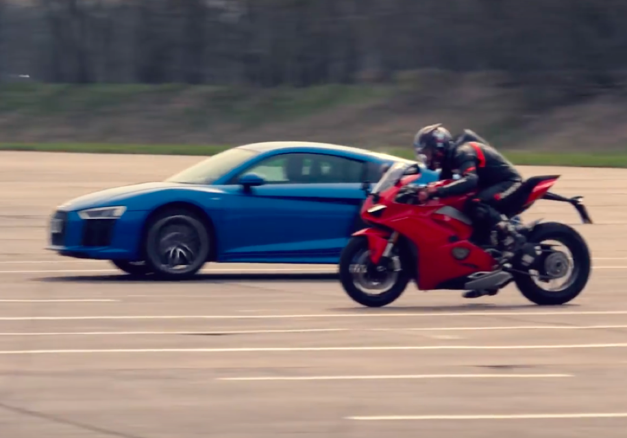 Ducati и Audi сравнили в гон…