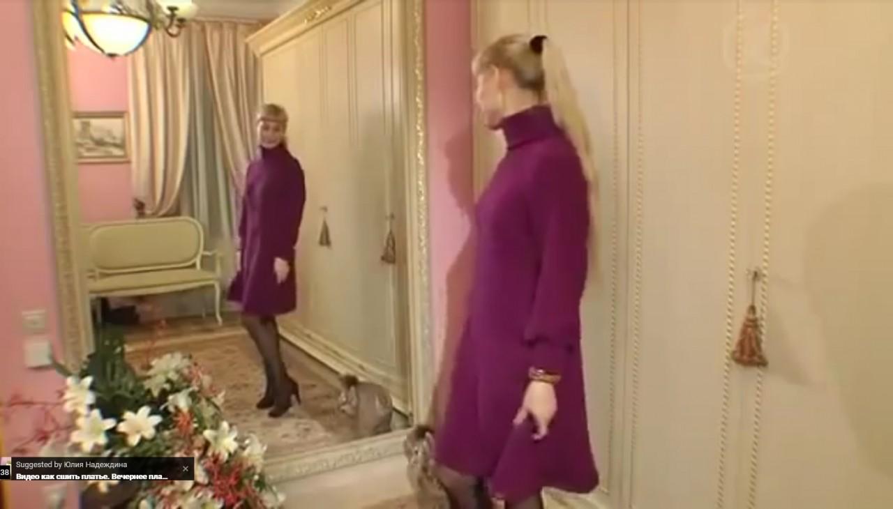 ШЬЕМ, ШЬЁМ, ШЬЁМ... Теплое платье на осень и зиму