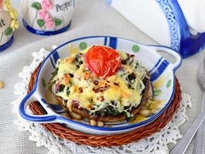 ЗАКУСОЧНЫЙ ДЕНЬ. Фаршированные грибы с сыром в духовке