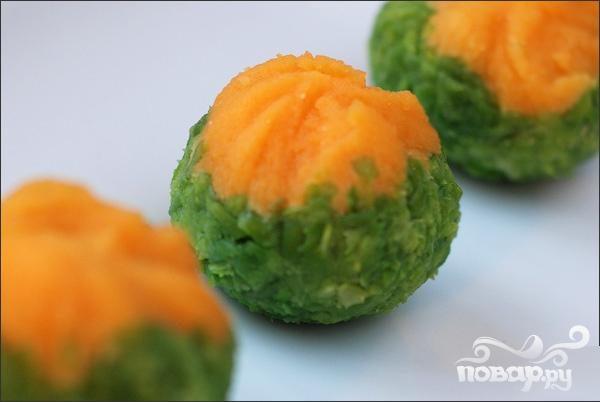 """Японский десерт """"Тякин сибори"""""""