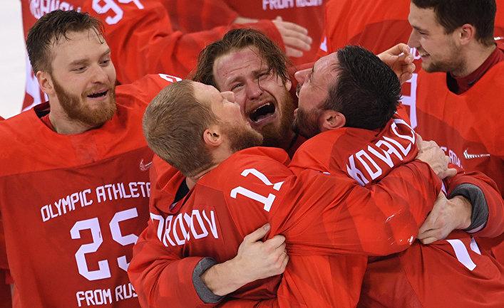 Faneille.com, Финляндия: Олимпийское золото в хоккее взяла Россия, а не ОАР