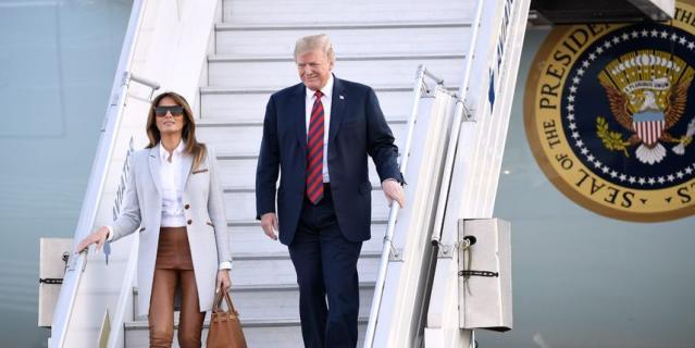 Стало известно, почему Мелания Трамп изменилась в лице после рукопожатия Путина