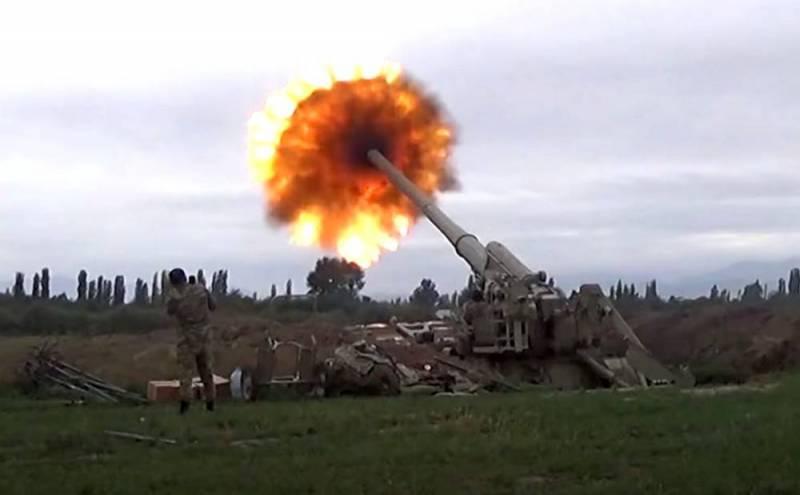 Артиллерия замолчала в Нагорном Карабахе после разговора Путина с Алиевым Новости