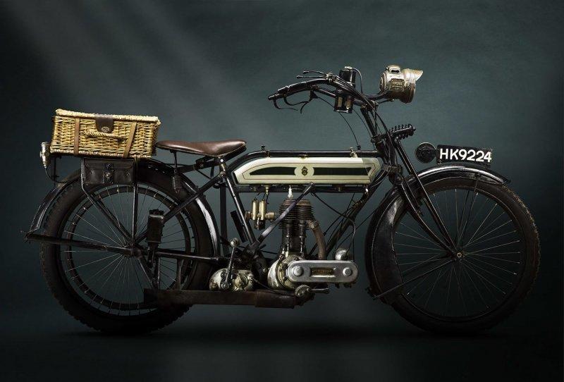 Truimph model 1 ww1 despatch 1916 авто, автомобили, мото, мотоциклы, фото, фотограф, фотографии, фотография