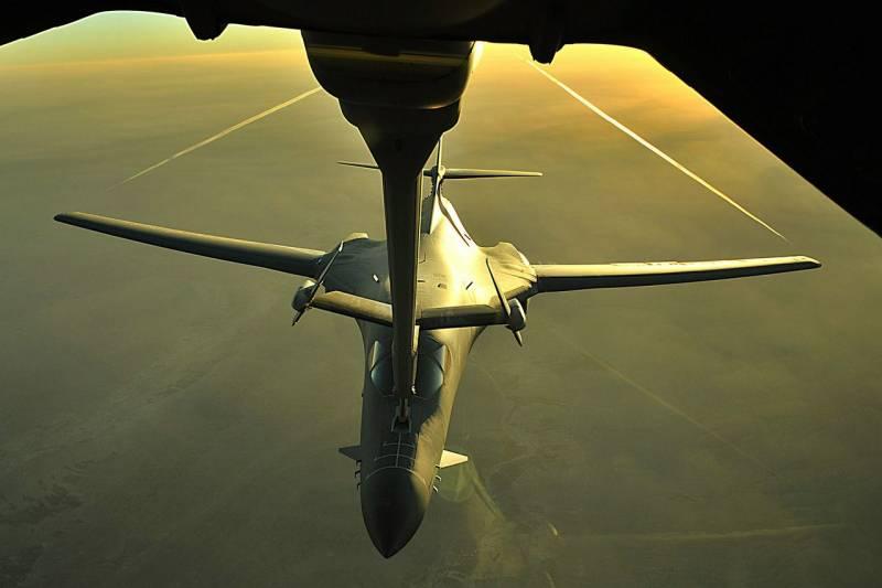 Опасность трансарктических рейдов ракетоносцев B-1B. Удар с севера с расчётом на режим огибания рельефа местности разведка