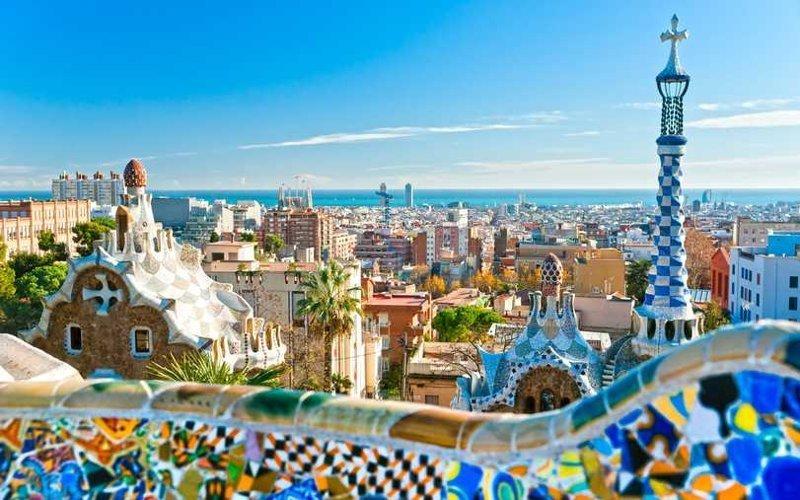 6. Барселона города, европа, красивые, самые
