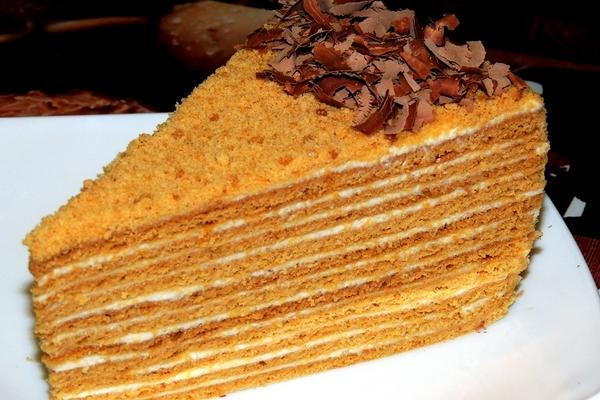 Торт «Сказочный медовик»