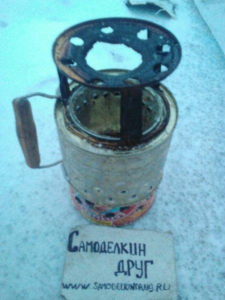 Пиролизная печь из консервной банки своими руками