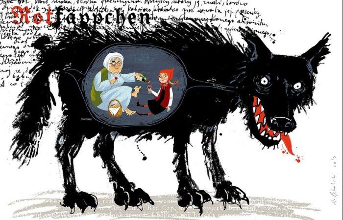 Мастер позитивного гротеска: Вся правда жизни на ироничных картинах капитана Камикадзе