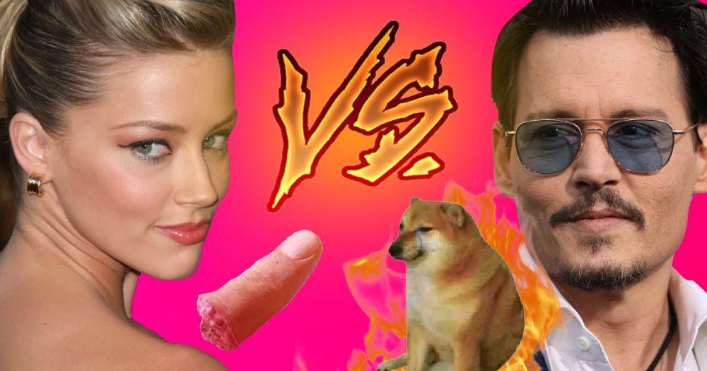Отрезала палец VS Хотел поджечь собаку: Что происходит у Эмбер Херд и Джонни Деппа?