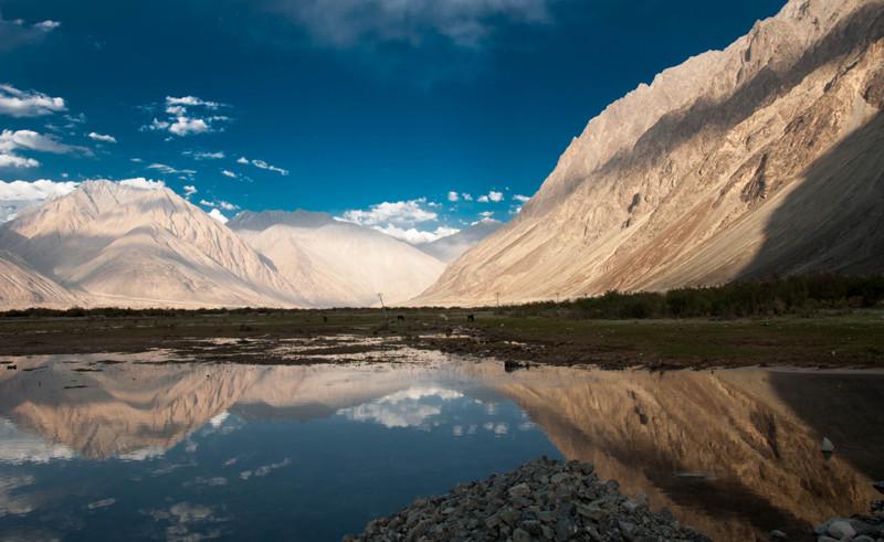 Нубра, Индия долина, природа, факты