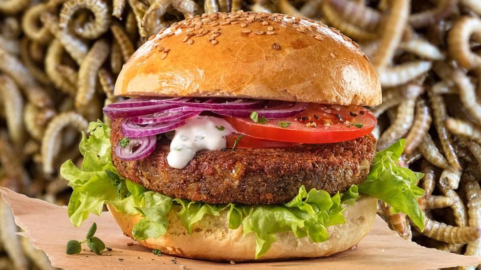 Новый бургер со вкусом мяса …