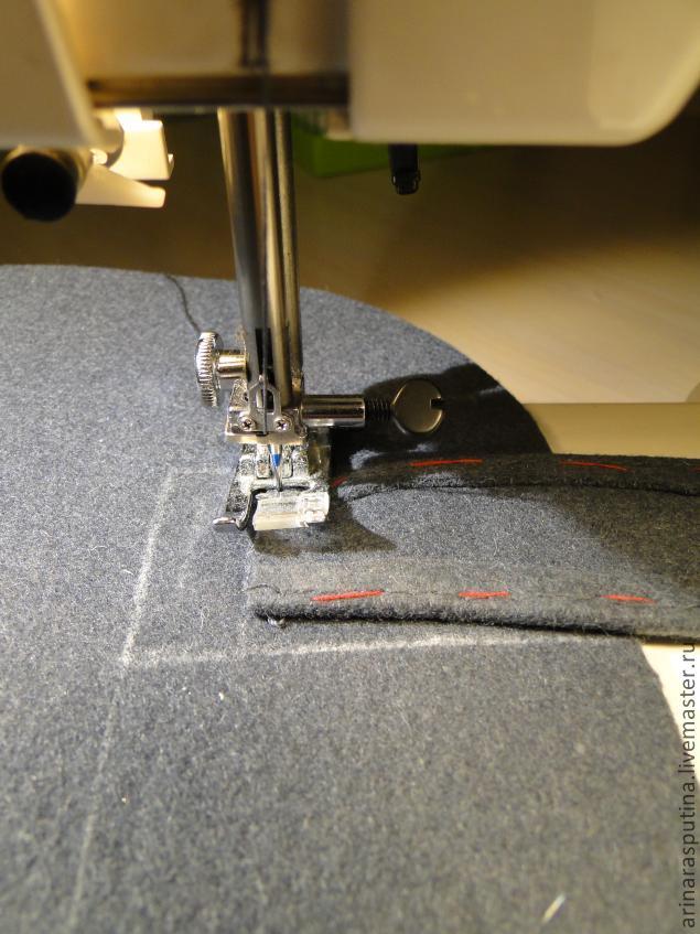 Сумка из шинельного сукна