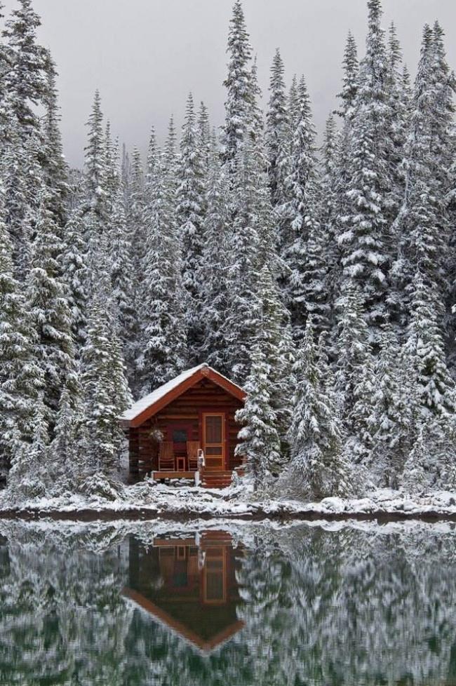 Уютные домики, построенные своими руками