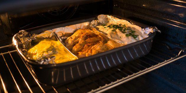 тушёная курица с кабачками в сметане: блюда в духовке