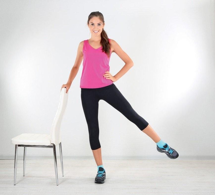 Как у моделей: 5 упражнений для стройных ног.
