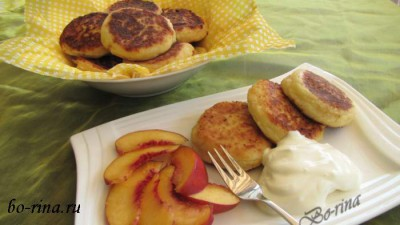 Сырники-творожники для семейного завтрака