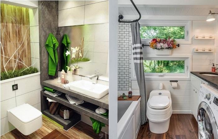 20 дизайнерских идей, которые можно воплотить в крошечных ванных комнатах наших «хрущевок»