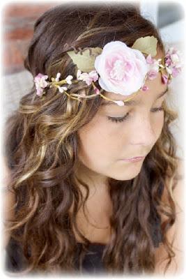 Как сделать цветочную корону для волос своими руками