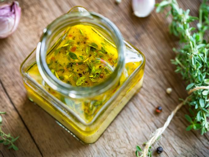 Французская заправка для салатов кухни мира,соусы