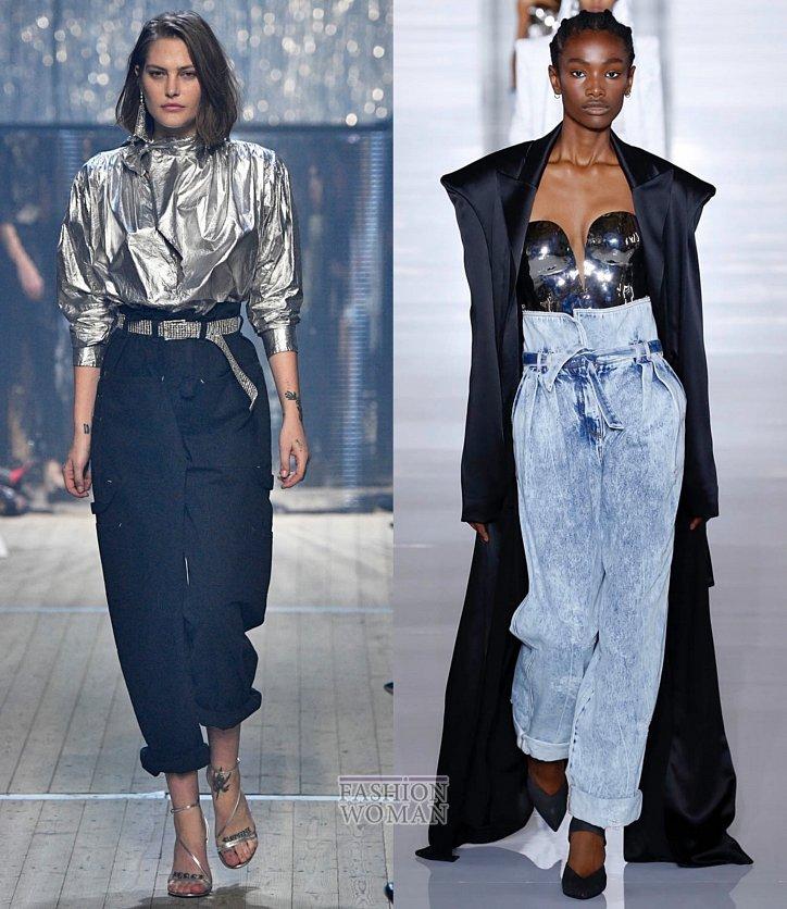 Модные джинсы весна-лето 2019 фото №23
