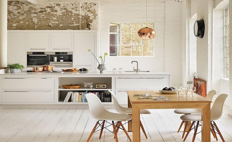 Дизайн кухни в скандинавском стиле: особенности декорирования