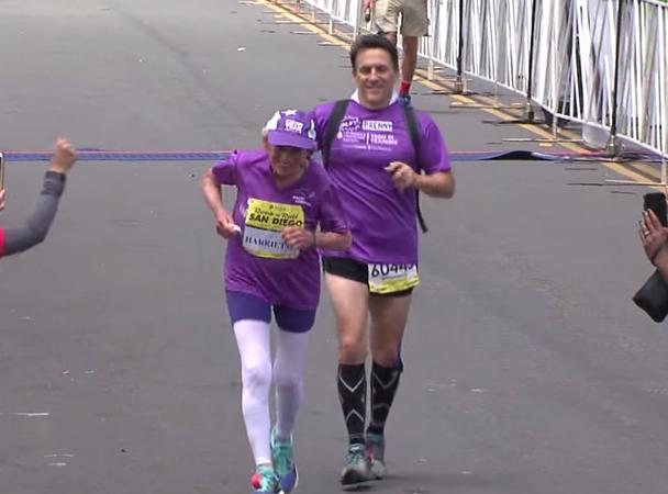 92-летняя американка пробежала марафон
