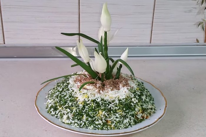 удобный устойчивый салат подснежник рецепт с фото привнести этот