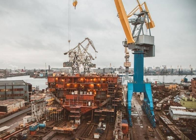 Балтийский завод может вернуться к строительству военных кораблей