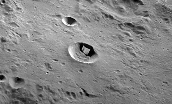 На Луне нашли металлический объект. Ученые пытаются понять, как он попал в точку, куда официально никто не прилетал