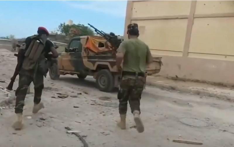 В Ливиии возобновились боевые действия