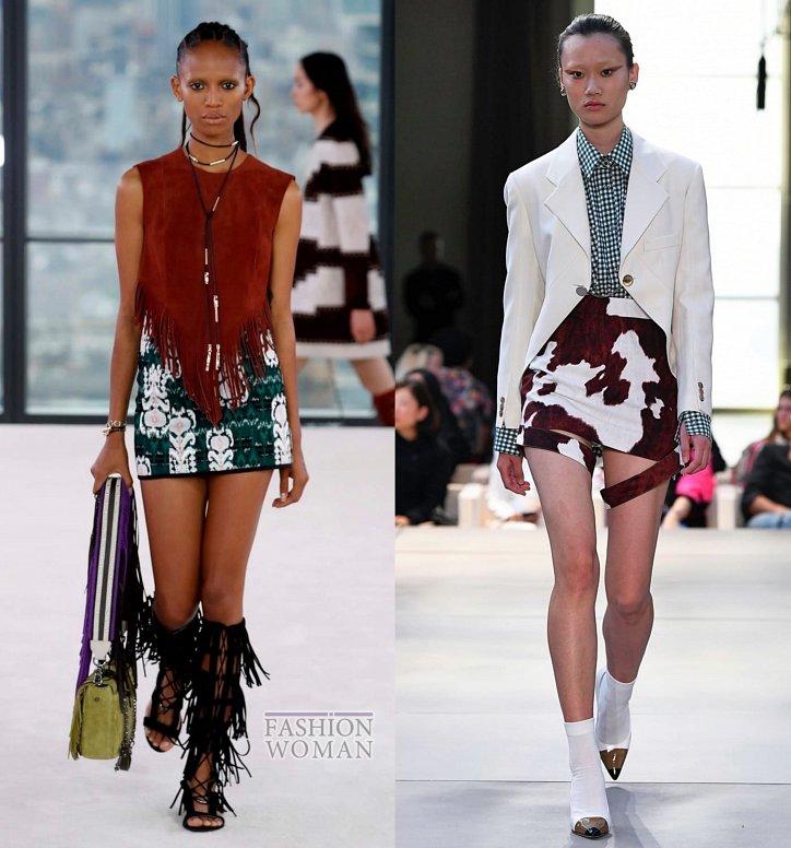 Модные юбки весна-лето 2019 фото №27