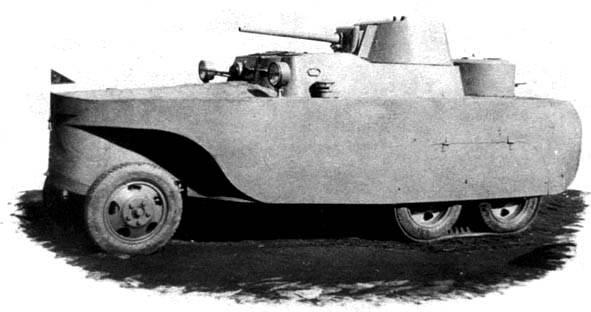 БАД-2: первый советский плавающий бронеавтомобиль