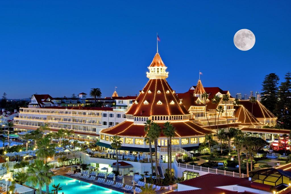 4. Hotel del Coronado в Сан-Диего