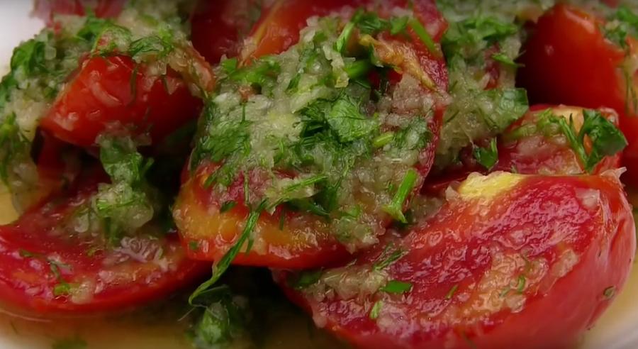 Пальчики оближешь - помидоры по-корейски