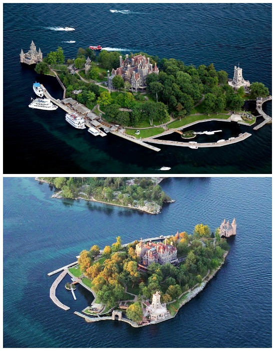 Самый знаменитый остров архипелага «Тысяча островов» – «Сердечный».| Фото:  guruturizma.ru.