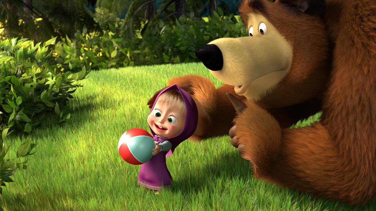 «Маша и медведь»: феномен мультфильма, завоевавшего мир