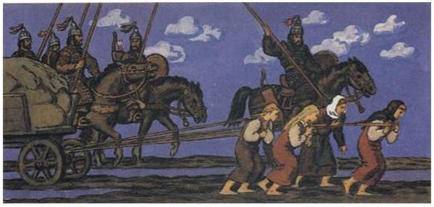 Велики как обры: кем были авары, запрягавшие славянских женщин втелеги вместо волов жизнь,история,курьезы,факты