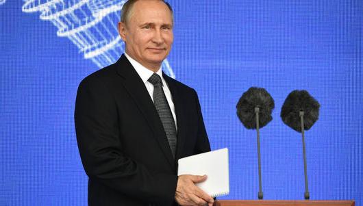 После выступления Путина на …