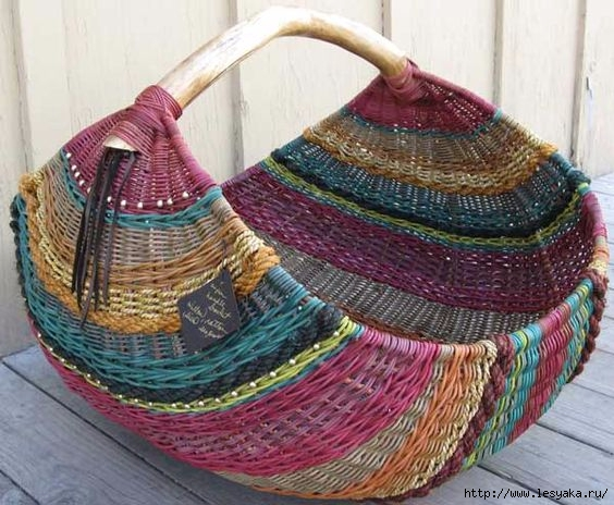 Изумительные плетеные корзиночки своими руками! Мастер-класс