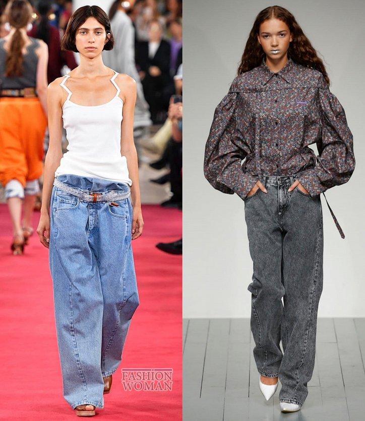 Модные джинсы весна-лето 2019 фото №5