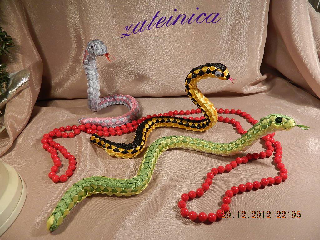моя вторая партия змеек