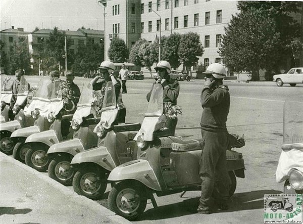 Ещё 4 легендарных советских мотороллера СССР, история, мотороллеры, производство мотороллеров